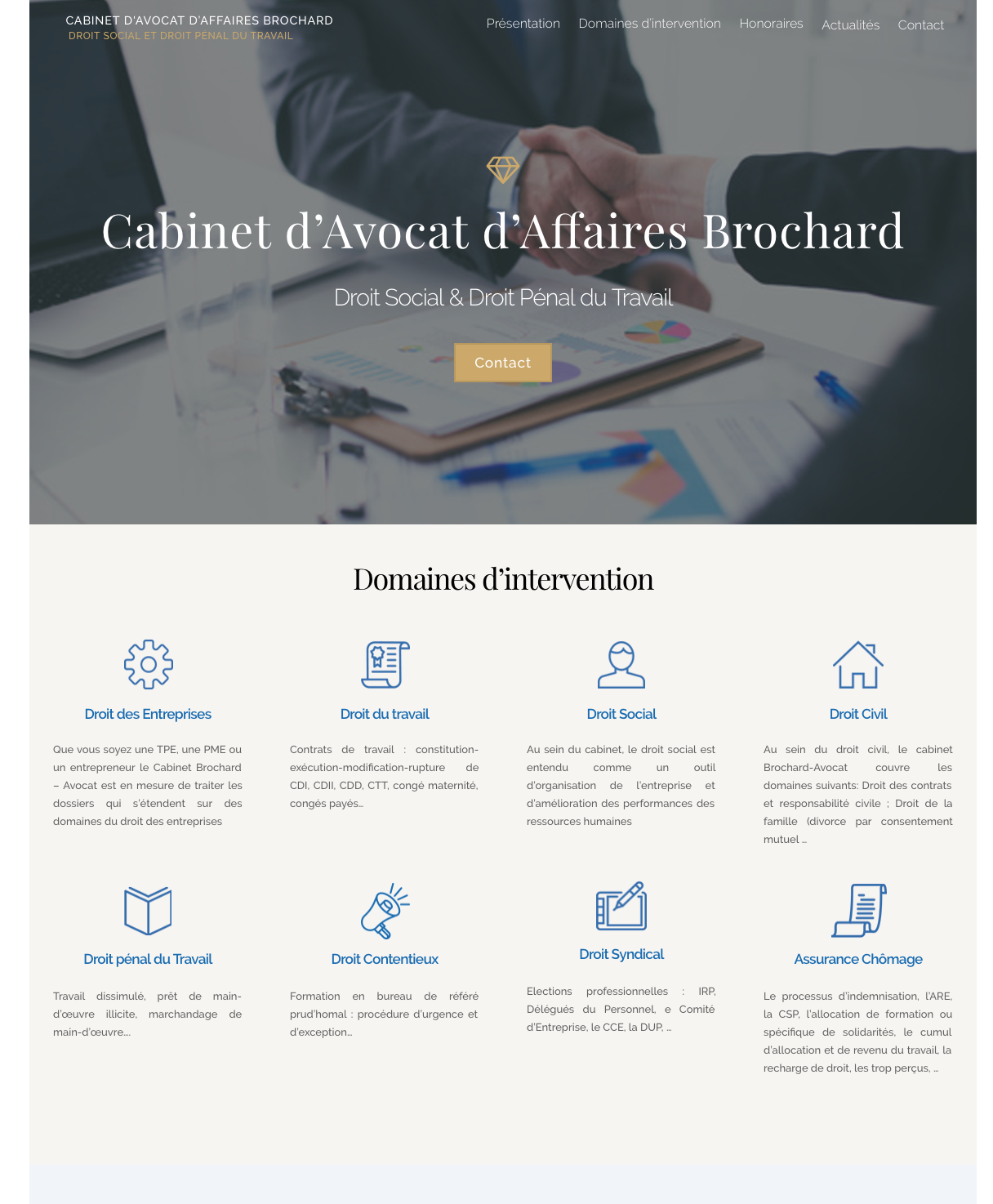 Cabinet Brochard Avocat Paris